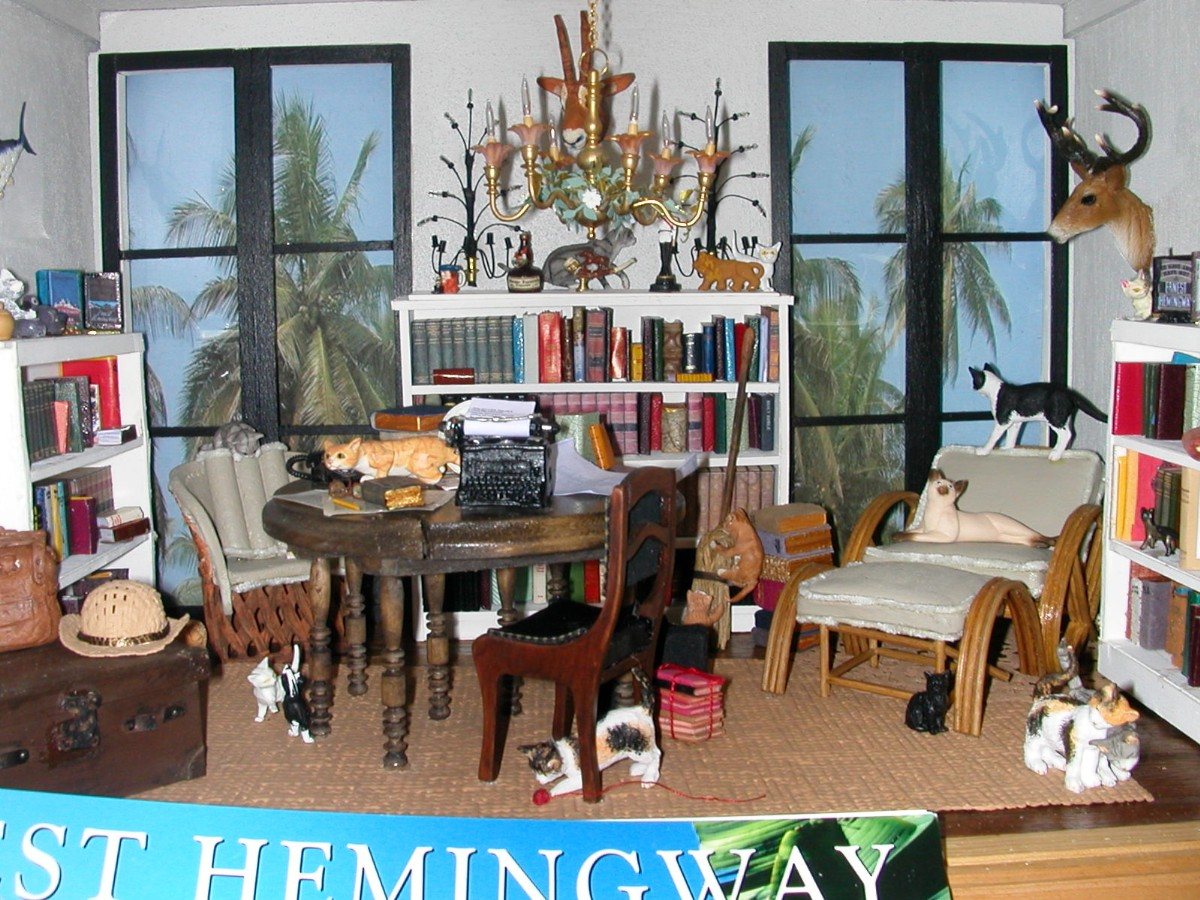 Hemingway's Writing Studio, Key West home